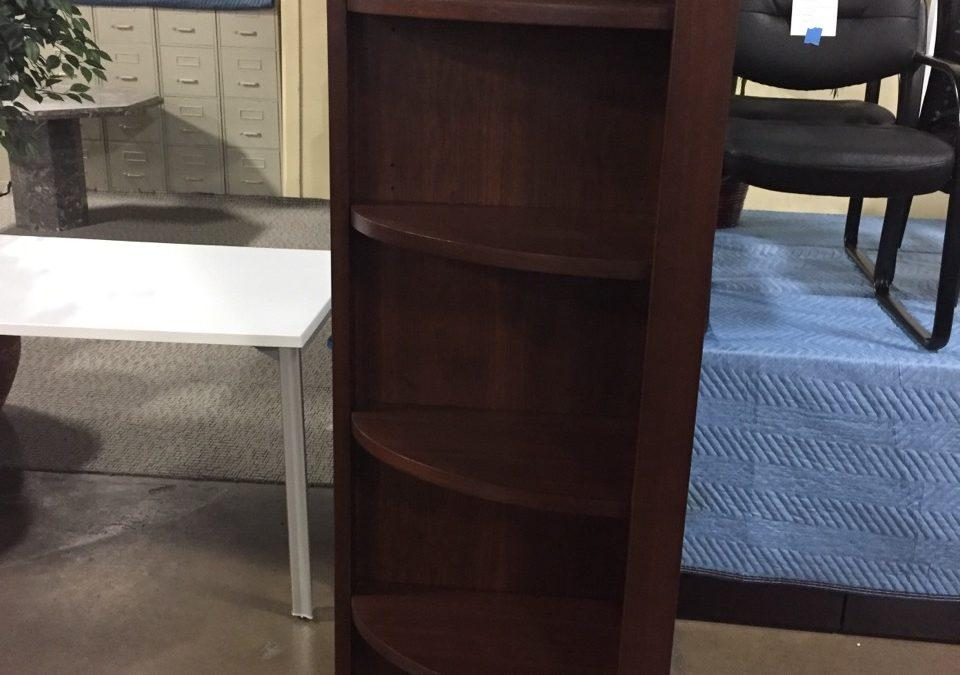 TROB641 Quarter Rounded Wood Bookcase $60/ea. (or all 3 for $120), 3 Available