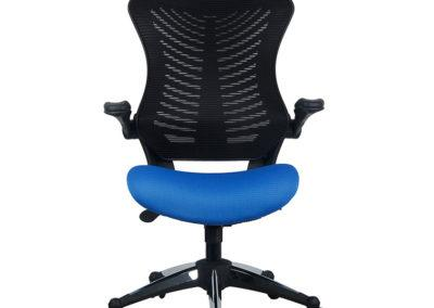 OB828 700 of 2001bkbl 1 Office Factor Blue Chair