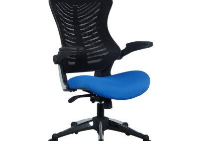 OB828 700 of 2001bkbl 2 Office Factor Blue Chair