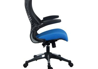 OB828 700 of 2001bkbl 3 Office Factor Blue Chair