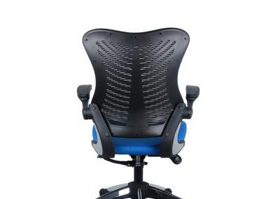 OB828 700 of 2001bkbl 4 Office Factor Blue Chair