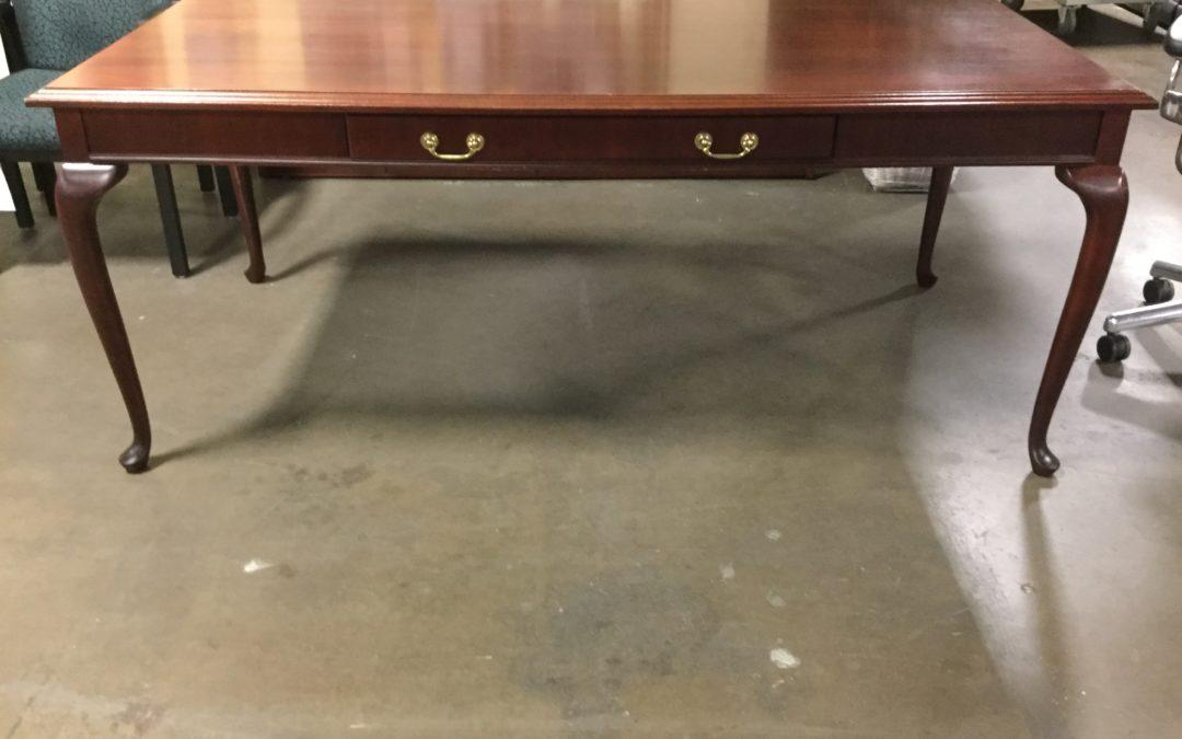 TROB917 Kimball Table Desk w/Center Drawer 73w x 38d, $175, 1 Available